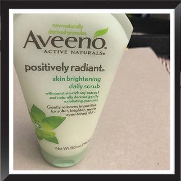 Photo of Aveeno Positively Radiant Skin Brightening Daily Scrub uploaded by Ayanna C.