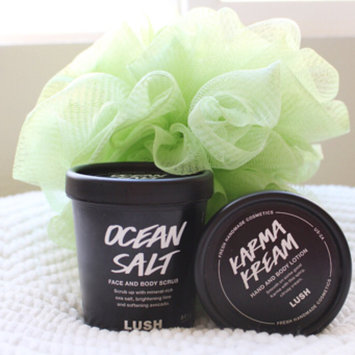 Photo of LUSH Ocean Salt Face and Body Scrub uploaded by Angelica ⚡.