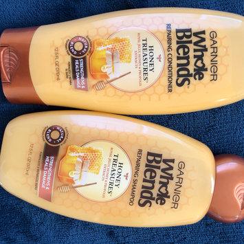 Photo of Garnier Whole Blends™ Honey Treasures Repairing Shampoo uploaded by Charnel G.