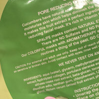 SpaLife Pore Reducing Facial Mask - Cucumber - 0.81 oz uploaded by Erin H.