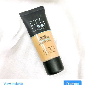 Photo of Brand Maybelline Fit Me Matte & Poreless Foundation 120 Classic Ivory uploaded by Sugar B.