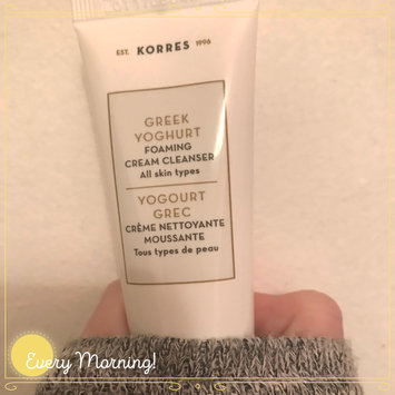 Photo of KORRES Greek Yoghurt Foaming Cream Cleanser uploaded by Alyssa B.