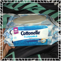 Cottonelle® FreshCare® Flushable Cleansing Cloths uploaded by Amy G.