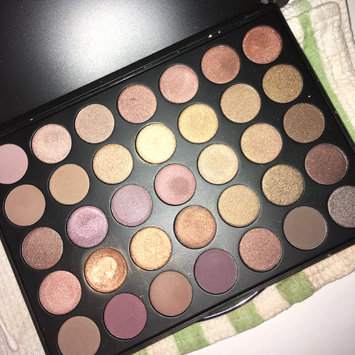 Photo of Morphe 35T - 35 Color Taupe Eyeshadow Palette uploaded by Avery S.