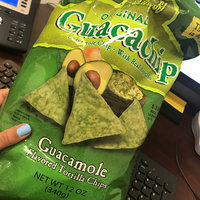 El Sabroso Guacachip, Guacamole Flavored Tortilla Chips, 12-Ounce Packages (Pack of 12) uploaded by Aurangel D.