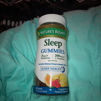 bounty sleep melatonin nature gummies mg natures punch complex snoring aids health