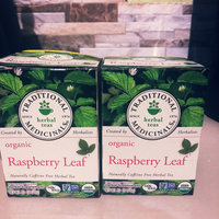 Traditional Medicinals Caffeine Free Organic Herbal Tea Raspberry Leaf uploaded by Alake T.