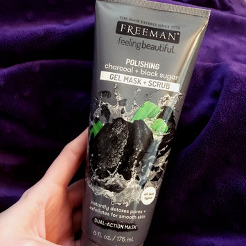 Photo of Freeman Feeling Beautiful™ Polishing Charcoal & Black Sugar Gel Mask + Scrub uploaded by Alexis C.
