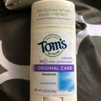 Photo of Tom's OF MAINE Unscented Original Care Deodorant uploaded by Alexandre S.