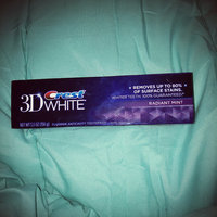 Crest 3D White Whitening Toothpaste Radiant Mint uploaded by Amy G.