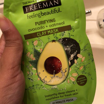 Photo of Freeman Feeling Beautiful Purifying Avocado & Oatmeal Clay Mask uploaded by Lindsay M.