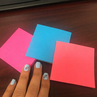 Post-it Super Sticky Notes in Assorted Colors uploaded by Aurangel D.
