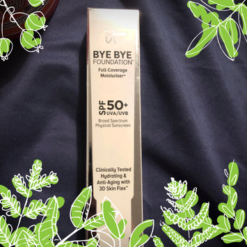 Photo of IT Cosmetics® Bye Bye Foundation Full Coverage Moisturizer™ with SPF 50+ uploaded by Katie S.