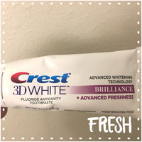 Crest 3D White Brilliance Mesmerizing Mint Whitening Toothpaste uploaded by Maryssa-Marie H.