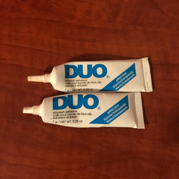 Photo of DUO Eyelash Adhesive Clear uploaded by Abigail G.