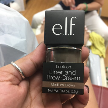 Photo of e.l.f. Cosmetics Lock On Liner and Brow Cream uploaded by Nelly Nel R.
