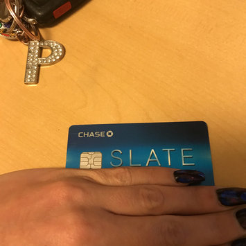 Photo of Chase Slate Credit Card uploaded by Diana R.