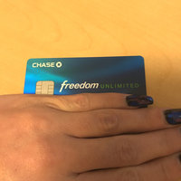 Chase Freedom Unlimited Credit Card uploaded by Diana R.