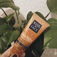 Kiss My Face Face Factor Natural Sunscreen SPF 50 Sunblock for Face and Neck uploaded by Sunny M.