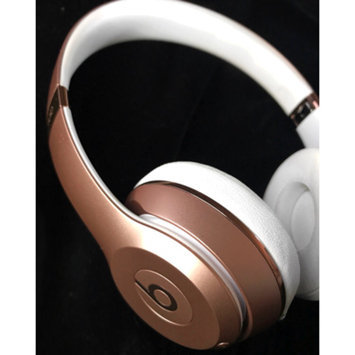 Photo of Apple Beats Solo3 Bluetooth On-Ear Headphones with Mic Control - Rose G uploaded by Angel C.