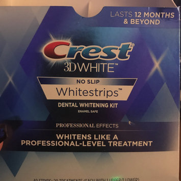 Photo of Crest 3D White Luxe Professional Effects Whitestrips Teeth Whitening Kit uploaded by Diana R.