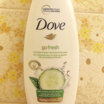 Photo of Dove Go Fresh Cool Moisture Body Wash uploaded by Elizabeth T.