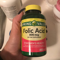 Spring Valley Folic Acid Dietary Supplement Tablets, 800mcg, 400 count uploaded by Diana R.