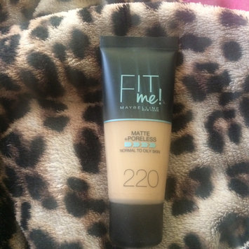 Photo of Brand Maybelline Fit Me Matte & Poreless Foundation 120 Classic Ivory uploaded by Sanaa A.