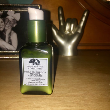 Photo of Origins Dr. Andrew Weil for Origins™ Mega-Mushroom Relief & Resilience Advanced Face Serum uploaded by Ryan S.