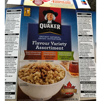 Quaker® Instant Oatmeal Flavor Variety Pack uploaded by Courtney W.