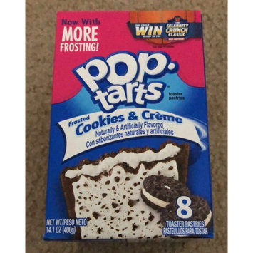 Photo of Kellogg's Pop-Tarts Frosted Cookies & Cream Toaster Pastries uploaded by Angie G.