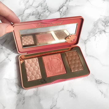 Photo of Too Faced Sweet Peach Glow Infused Highlighting Palette uploaded by Kimberley S.