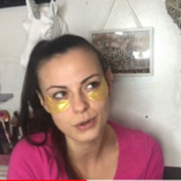 gold collagen crystal eye mask 7 Pck -GOLD COLLAGEN Crystal EYE Bag MASK - DARK CIRCLES, BAG FREE BONUS FEATHER HAIR EXTENSION WITH PURCHASE S, WRINKLES-Crystal Collagen Anti-Aging Eye Mask- Banish Bags, Dark Cricles, and Puffiness uploaded by Danielle W.