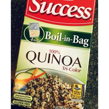 Photo of Success® Boil-in-Bag Tri-Color Quinoa 12 oz. Box uploaded by Jennifer B.