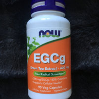NOW Foods EGCg green tea Extract 400 mg VCaps uploaded by Stephanie R.