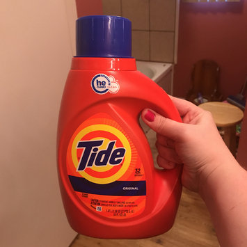 Photo of Tide Original Scent HE Turbo Clean Liquid Laundry Detergent uploaded by Stacy A.