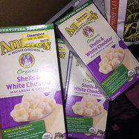 Annie's®  Homegrown Organic Grass Fed Shells & White Cheddar Macaroni & Cheese uploaded by mia r.