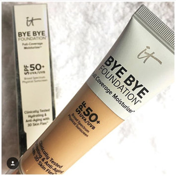 Photo of IT Cosmetics® Bye Bye Foundation Full Coverage Moisturizer™ with SPF 50+ uploaded by October L.