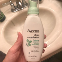 Aveeno Clear Complexion Foaming Cleanser uploaded by Malori M.