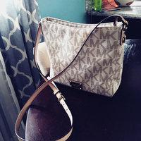 Michael Kors Jet Set Brown PVC Large Messenger Bag uploaded by Sajra S.