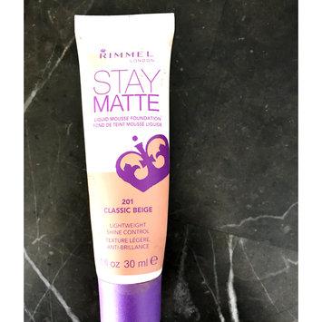 Photo of Rimmel London Stay Matte Liquid Mousse Foundation uploaded by Alisha J.