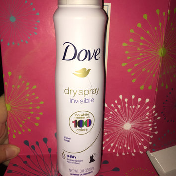Photo of Dove Invisible Dry Spray Sheer Fresh Antiperspirant uploaded by Ashlee P.