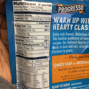 Photo of Progresso™ Hearty Classics Classic & Bold Tomato Soup with Meatballs & Penne Soup uploaded by Nia N.