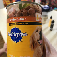 Pedigree® Chicken and Rice Choice Cuts in Gravy Dog Food uploaded by Stacy A.