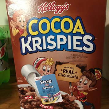 Photo of Kellogg's Cocoa Krispies Cereal uploaded by MK R.