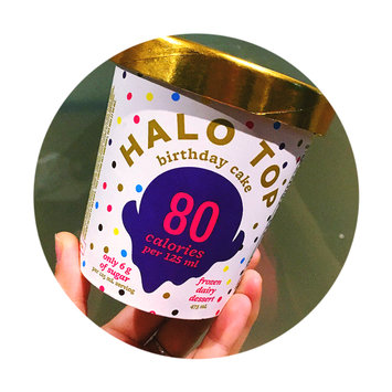 Photo of Halo Top Birthday Cake Ice Cream uploaded by Deanna W.
