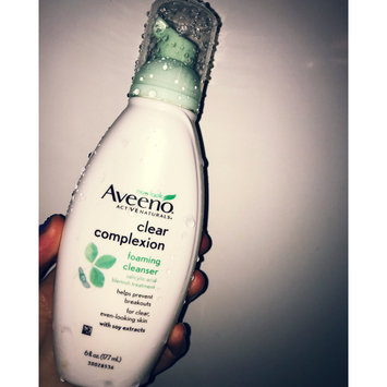 Photo of Aveeno Clear Complexion Foaming Cleanser uploaded by Samantha M.