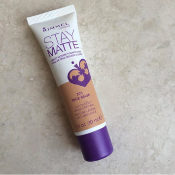 Photo of Rimmel London Stay Matte Liquid Mousse Foundation uploaded by Meera 🙇.