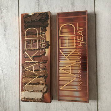 Photo of Urban Decay Naked Heat Eyeshadow Palette uploaded by Emily C.