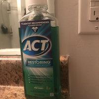 ACT Restoring Mint Burst Anticavity Fluoride Mouthwash, 18 oz uploaded by Stephanie B.